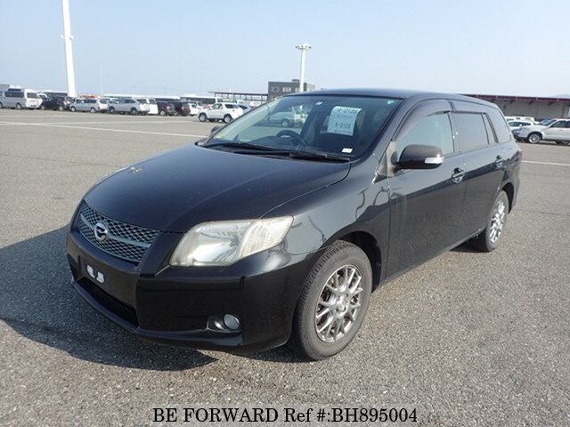Used 2007 TOYOTA COROLLA FIELDER BH895004 for Sale