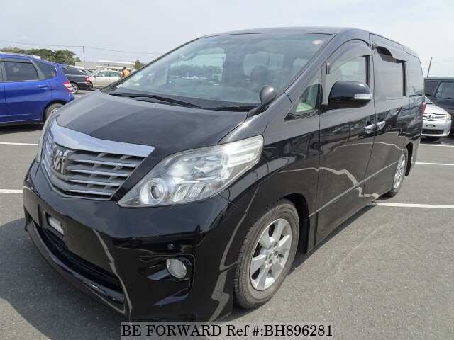 Used 2008 TOYOTA ALPHARD BH896281 for Sale