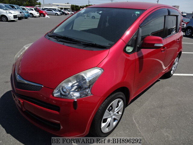 Used 2009 TOYOTA RACTIS BH896292 for Sale