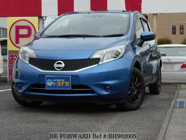 Used 2015 NISSAN NOTE BH902005 for Sale