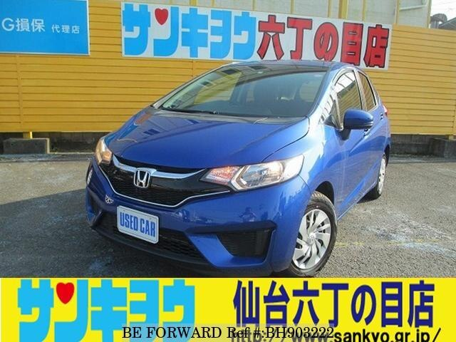Used 2016 HONDA FIT BH903222 for Sale