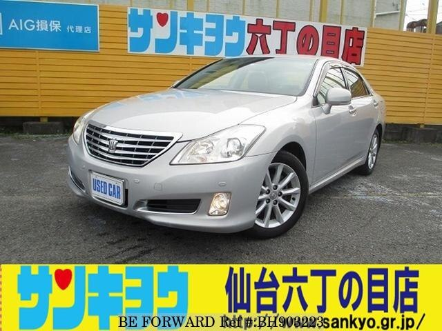 Used 2008 TOYOTA CROWN BH903223 for Sale
