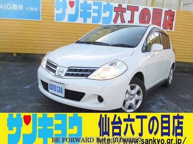 Used 2008 NISSAN TIIDA BH903227 for Sale