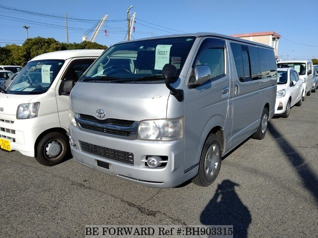Used 2010 TOYOTA HIACE WAGON BH903315 for Sale