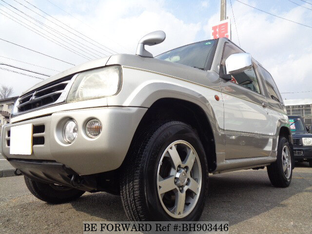 Used 2005 MITSUBISHI PAJERO MINI BH903446 for Sale