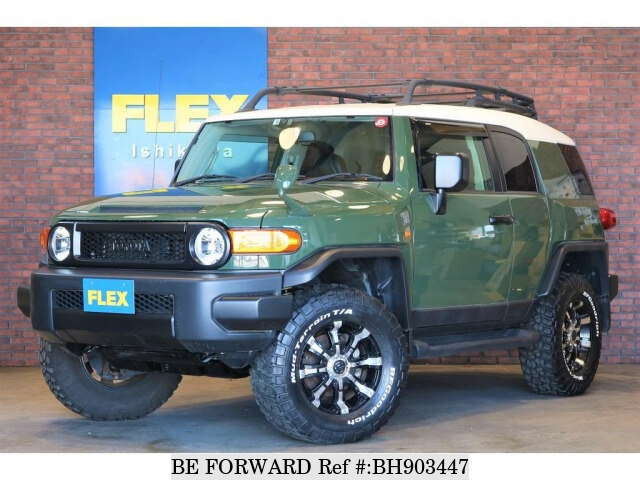 Used 2014 TOYOTA FJ CRUISER BH903447 for Sale