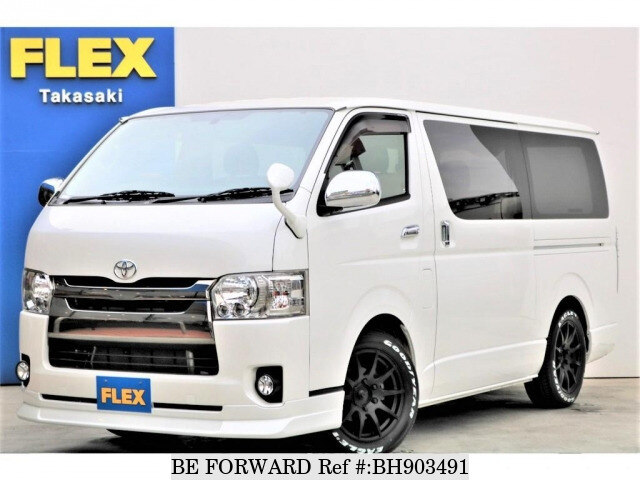 Used 2015 TOYOTA HIACE VAN BH903491 for Sale