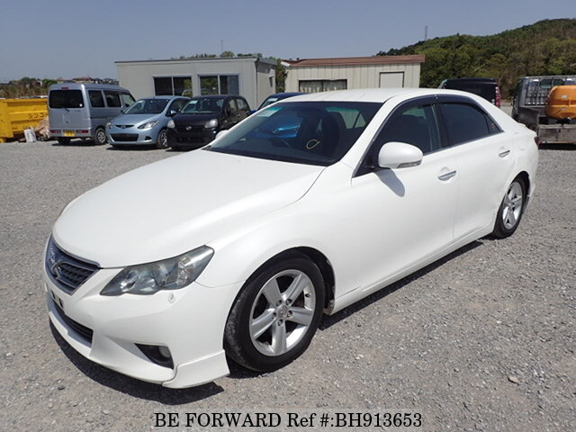 Used 2010 TOYOTA MARK X BH913653 for Sale