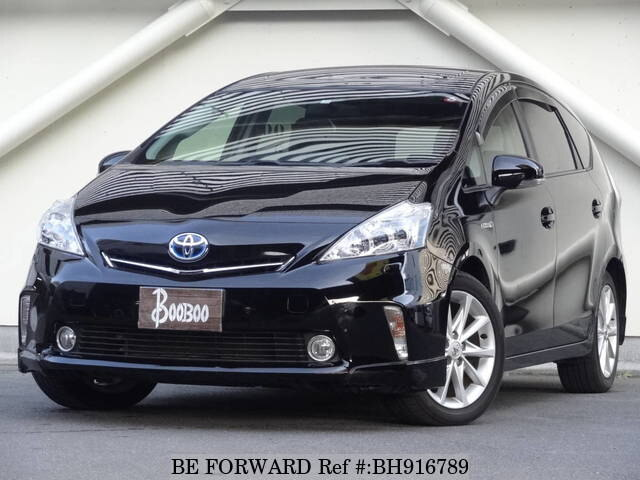 Used 2013 TOYOTA PRIUS ALPHA BH916789 for Sale