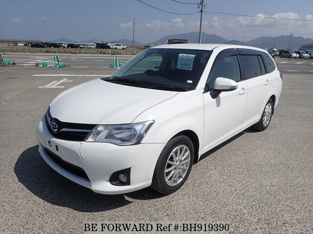 Used 2012 TOYOTA COROLLA FIELDER BH919390 for Sale