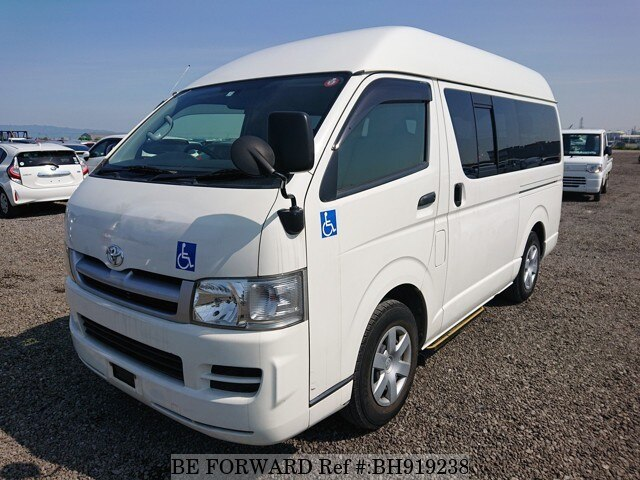 Used 2006 TOYOTA HIACE VAN BH919238 for Sale