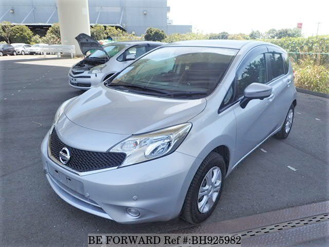 Used 2016 NISSAN NOTE BH925982 for Sale