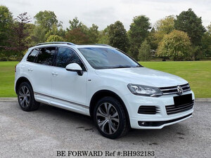 Used 2014 VOLKSWAGEN TOUAREG BH932183 for Sale