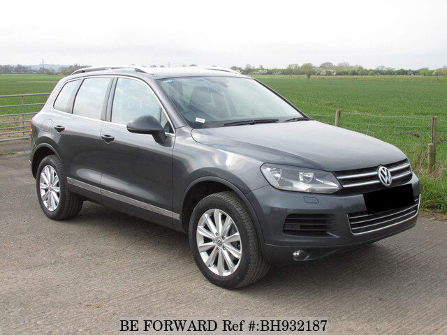 Used 2014 VOLKSWAGEN TOUAREG BH932187 for Sale