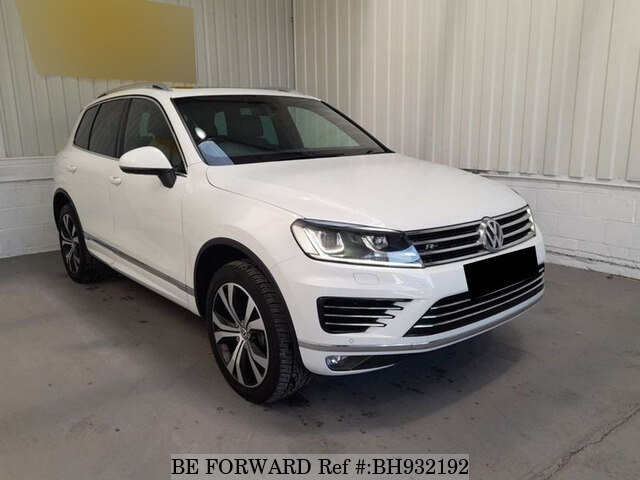 Used 2016 VOLKSWAGEN TOUAREG BH932192 for Sale