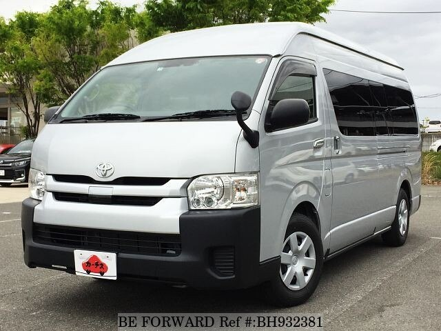 Used 2018 TOYOTA HIACE COMMUTER BH932381 for Sale