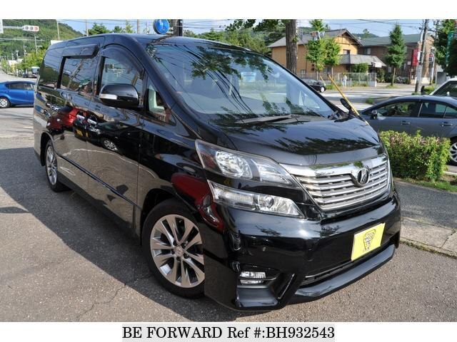Used 2010 TOYOTA VELLFIRE BH932543 for Sale