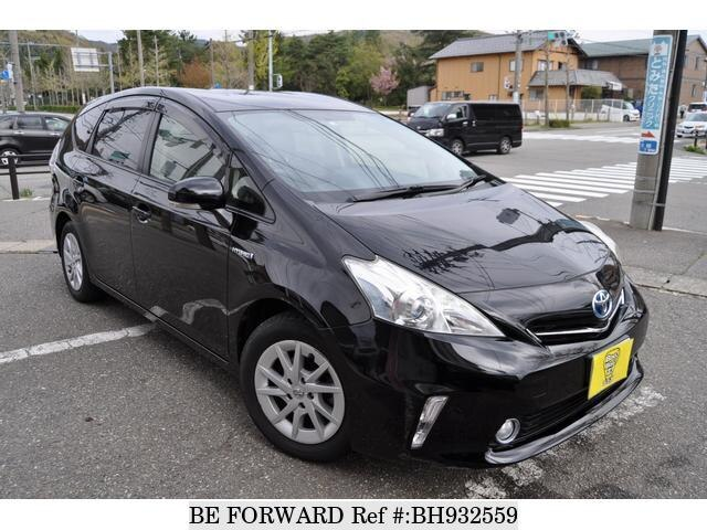 Used 2012 TOYOTA PRIUS ALPHA BH932559 for Sale