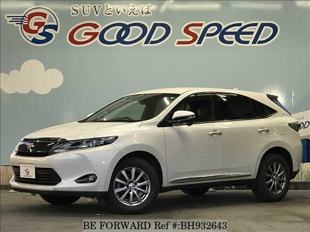 Used 2014 TOYOTA HARRIER BH932643 for Sale