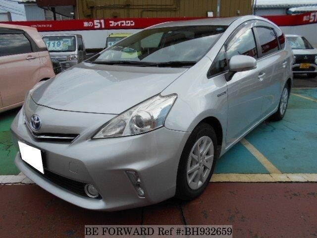 Used 2011 TOYOTA PRIUS ALPHA BH932659 for Sale