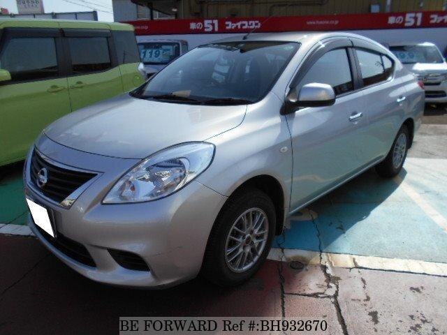 Used 2013 NISSAN LATIO BH932670 for Sale