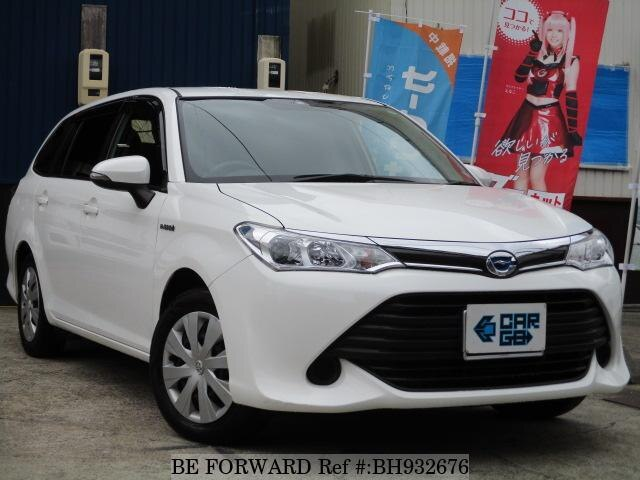 Used 2016 TOYOTA COROLLA FIELDER BH932676 for Sale