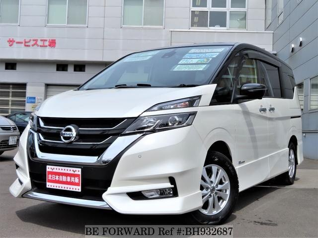 Used 2016 NISSAN SERENA BH932687 for Sale