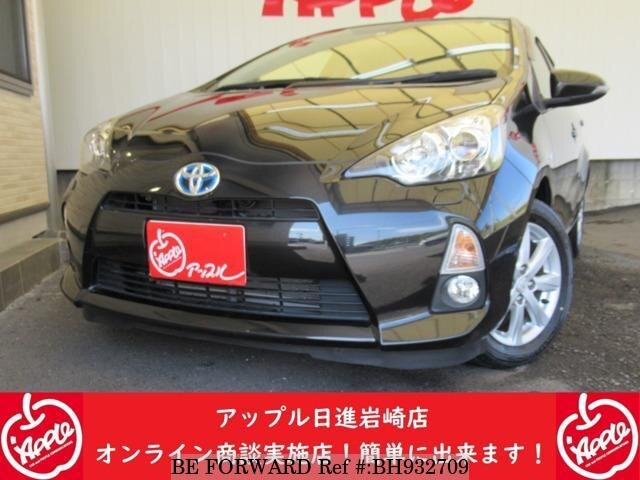 Used 2014 TOYOTA AQUA BH932709 for Sale