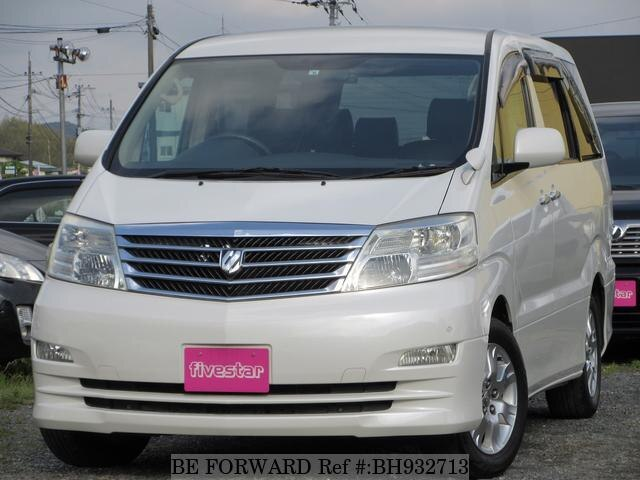 Used 2005 TOYOTA ALPHARD BH932713 for Sale