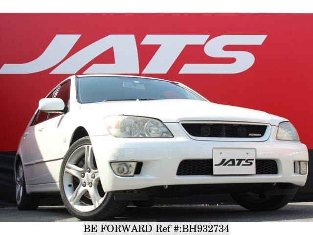 Used 2001 TOYOTA ALTEZZA BH932734 for Sale