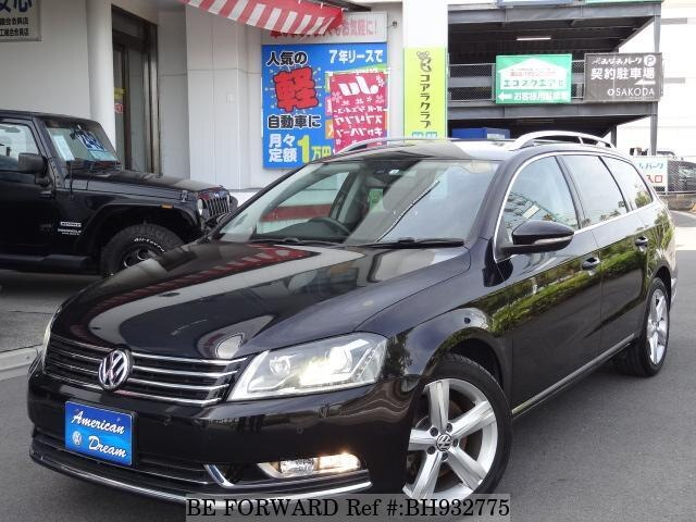 Used 2012 VOLKSWAGEN PASSAT VARIANT BH932775 for Sale