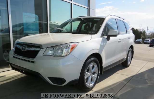 Used 2015 SUBARU FORESTER BH932868 for Sale