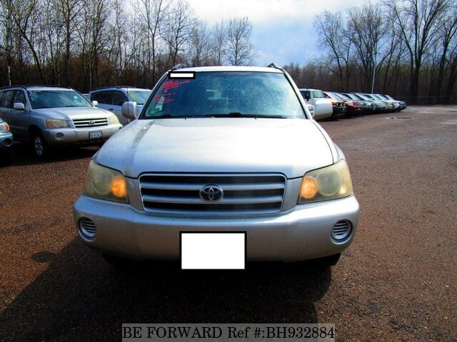 Used 2003 TOYOTA HIGHLANDER BH932884 for Sale
