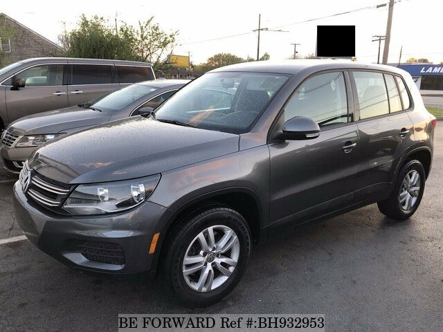 Used 2012 VOLKSWAGEN TIGUAN BH932953 for Sale