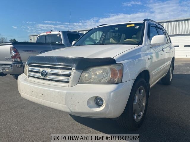 Used 2006 TOYOTA HIGHLANDER BH932982 for Sale