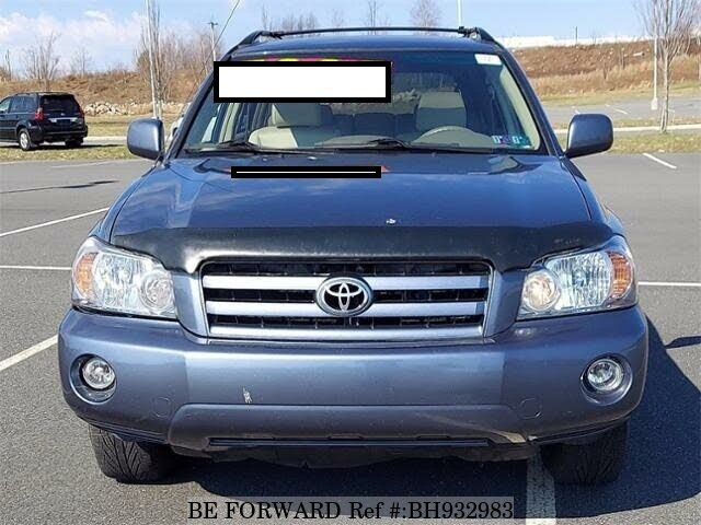 Used 2006 TOYOTA HIGHLANDER BH932983 for Sale