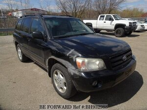 Used 2006 TOYOTA HIGHLANDER BH932988 for Sale