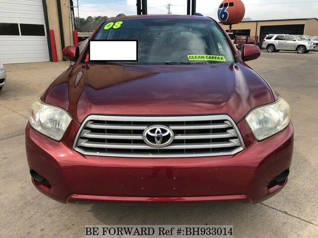 Used 2008 TOYOTA HIGHLANDER BH933014 for Sale