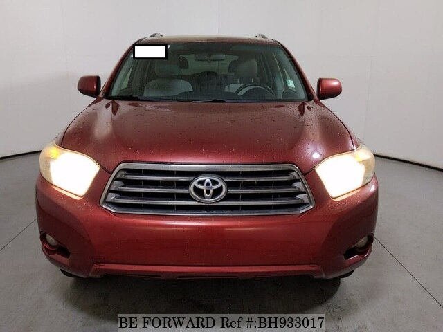 Used 2008 TOYOTA HIGHLANDER BH933017 for Sale