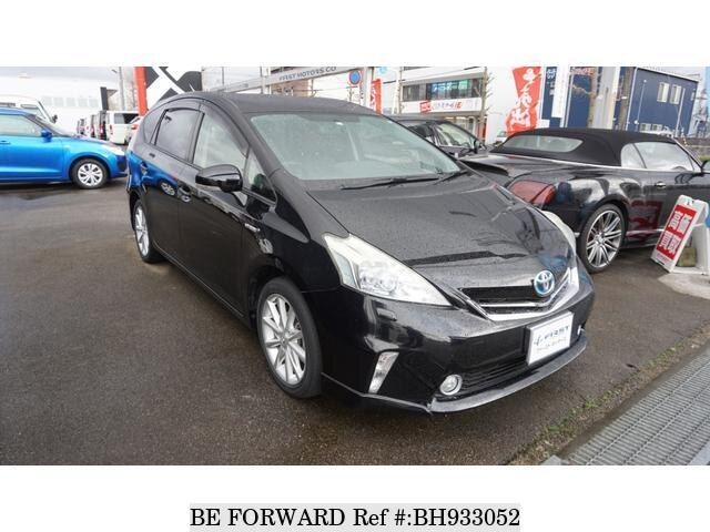 Used 2013 TOYOTA PRIUS ALPHA BH933052 for Sale