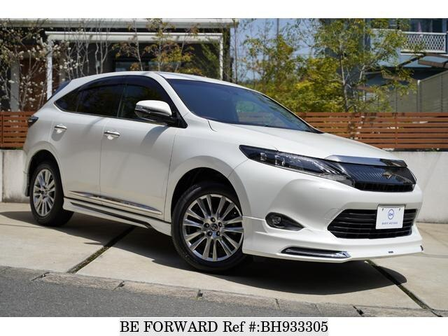 Used 2016 TOYOTA HARRIER BH933305 for Sale