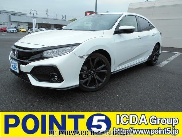 Used 2019 HONDA CIVIC BH933342 for Sale