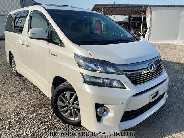 Used 2012 TOYOTA VELLFIRE HYBRID BH933346 for Sale