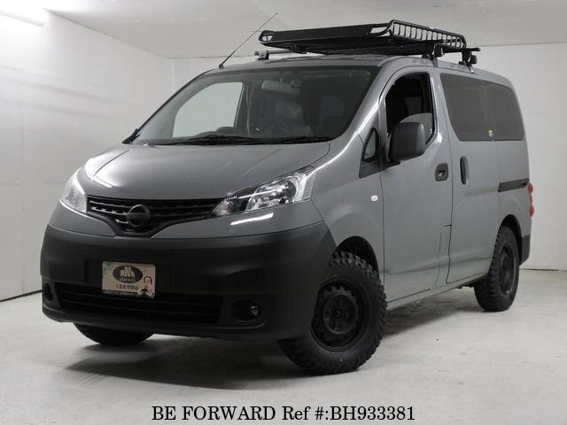 Used 2014 NISSAN NV200VANETTE WAGON BH933381 for Sale