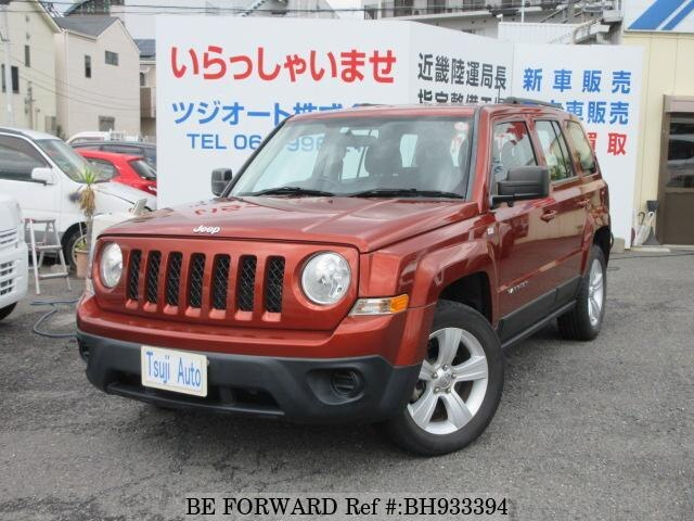 Used 2012 JEEP PATRIOT BH933394 for Sale