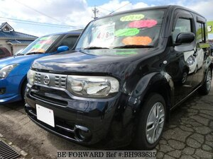Used 2012 NISSAN CUBE BH933635 for Sale