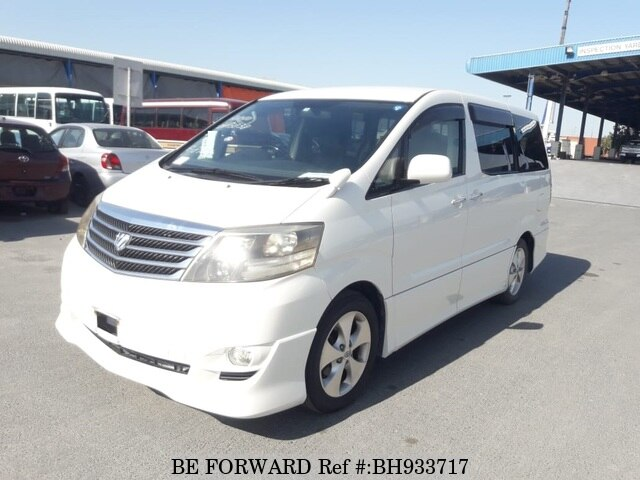 Used 2005 TOYOTA ALPHARD BH933717 for Sale
