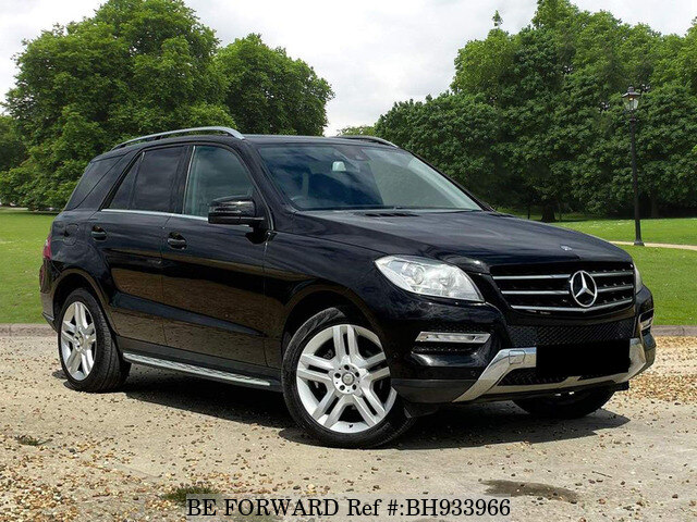 Used 2012 MERCEDES-BENZ ML CLASS BH933966 for Sale