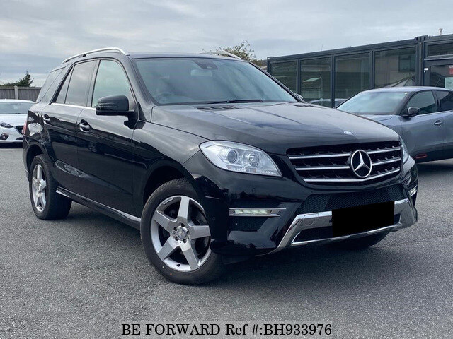 Used 2013 MERCEDES-BENZ ML CLASS BH933976 for Sale