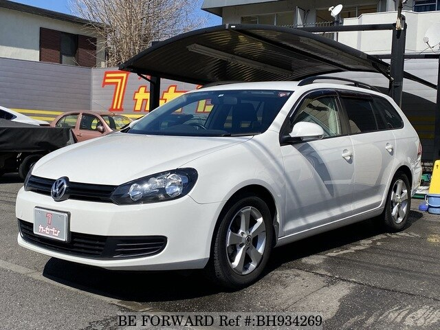 Used 2010 VOLKSWAGEN GOLF VARIANT BH934269 for Sale